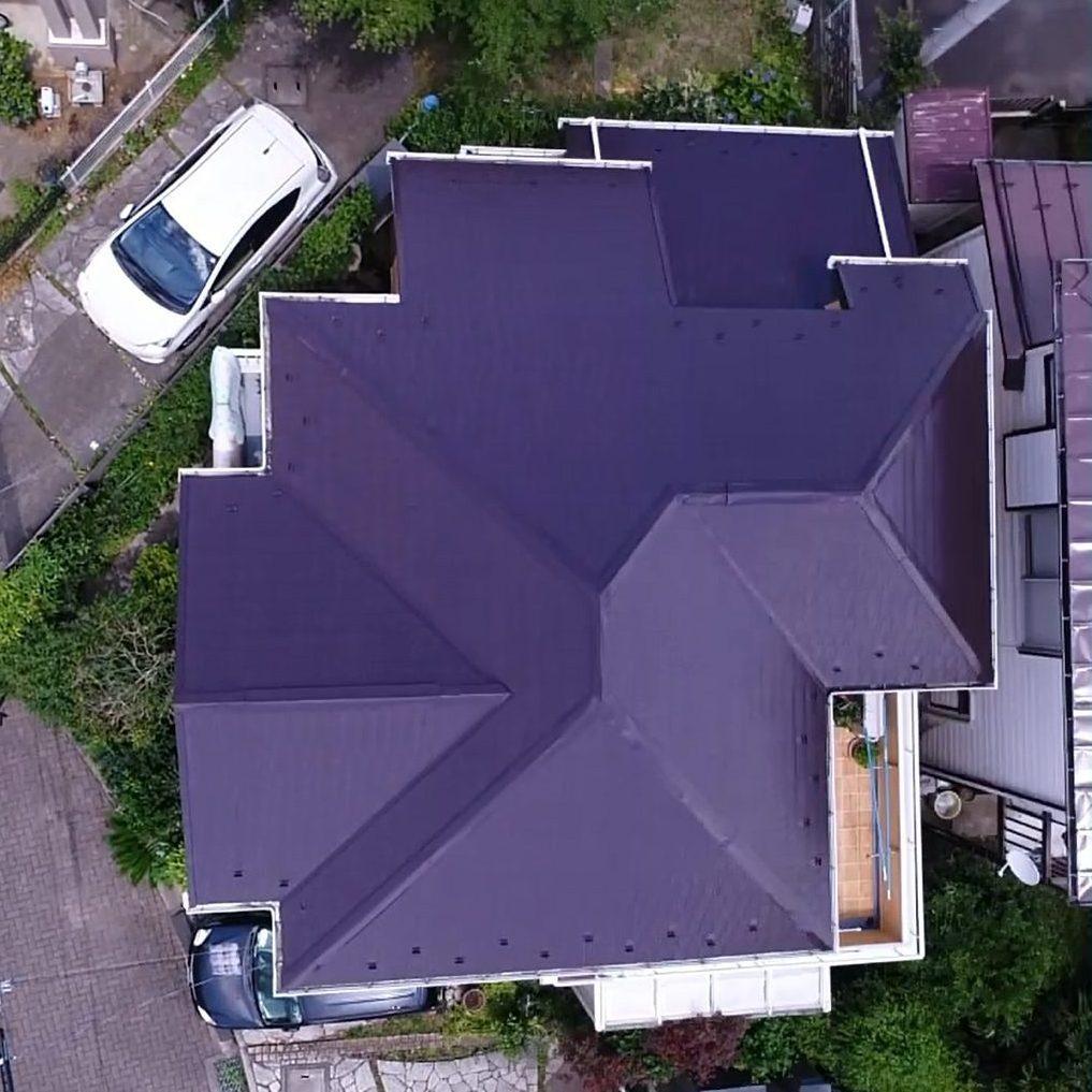 大和市H様邸 屋根塗装工事