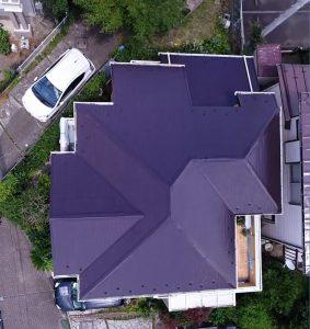 大和市H様邸 屋根塗装工事 After