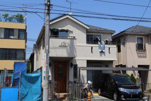 座間市K様邸 外壁塗装工事 Before