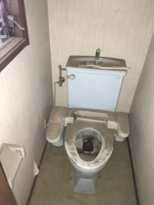 店舗トイレ工事 Before