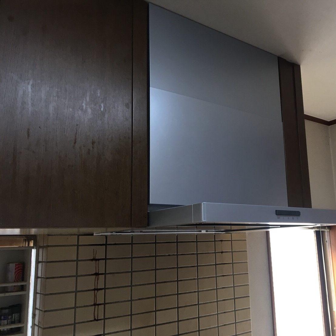 平塚市K様邸 レンジフード交換工事