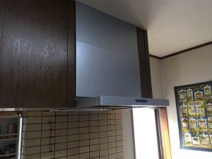 平塚市K様邸 レンジフード交換工事 After