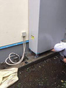 横浜市F様邸 エコキュート設置工事 After