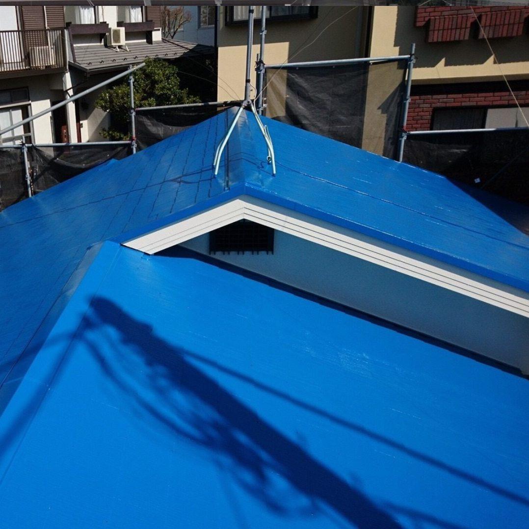 横浜市N様邸 屋根塗装工事