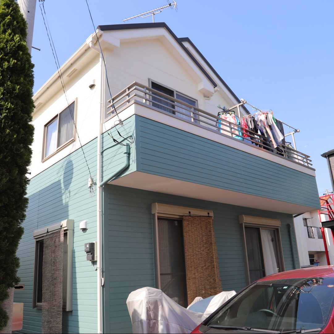 南足柄市K様邸 屋根葺替え・外壁塗装工事
