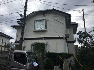 町田市S様邸 屋根・外壁塗装工事 Before