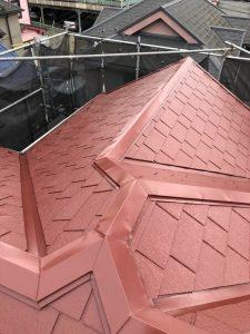 横浜市泉区N様邸 屋根塗装工事 After