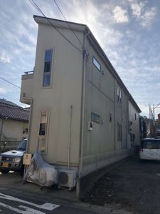 横浜市K様邸 屋根・外壁塗装・ベランダトップコート工事 Before