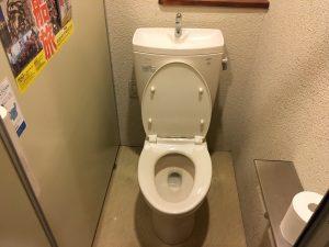 厚木店舗「やまと」 トイレ設置工事 ④ Before