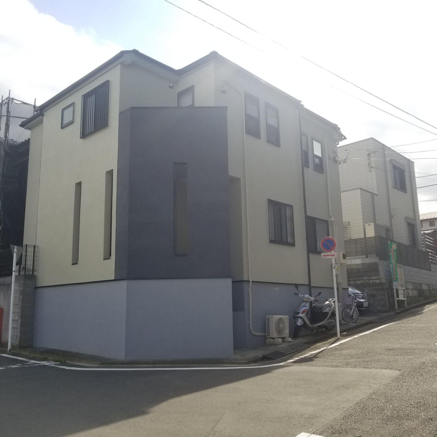 横浜市M様邸 屋根・外壁塗装工事