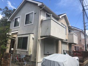 大和市I様邸 屋根葺替え・外壁塗装工事 ② Before