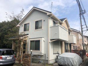 大和市I様邸 屋根葺替え・外壁塗装工事 ② After1