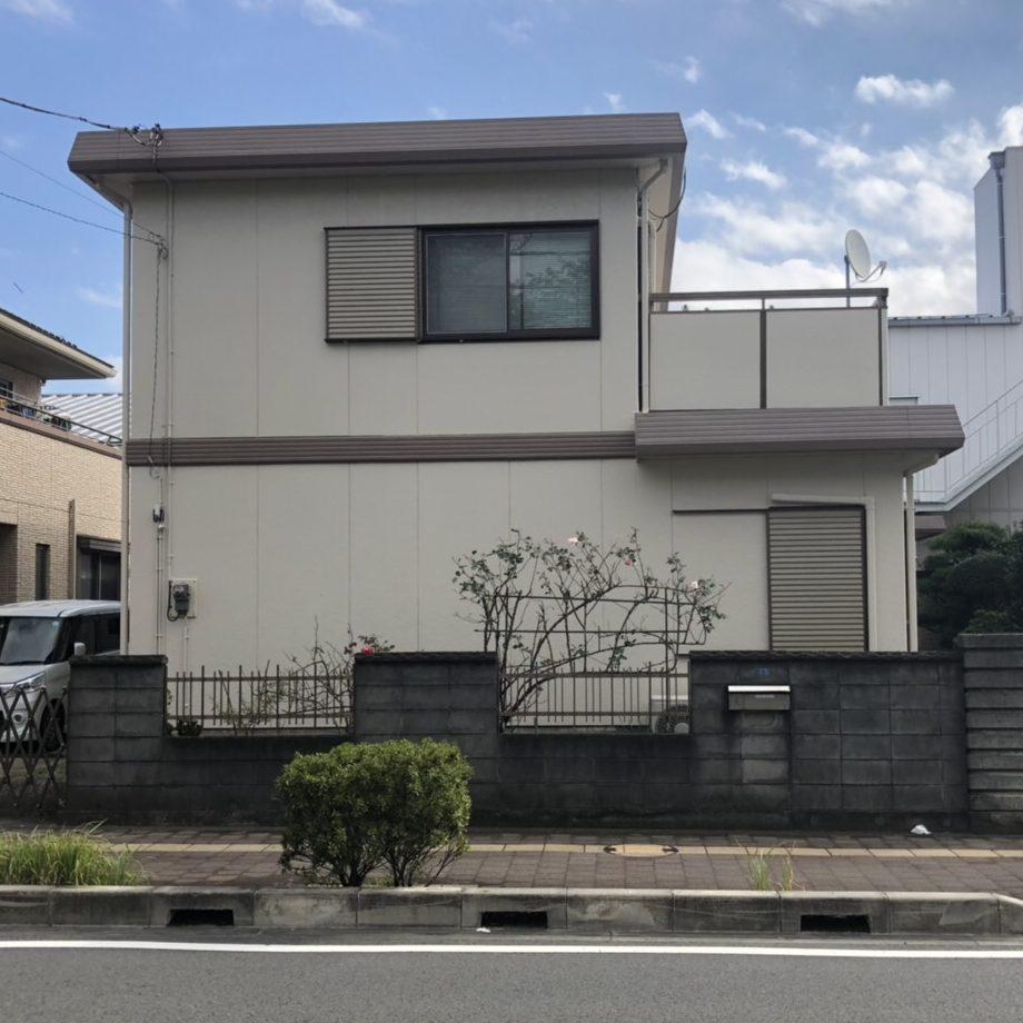 厚木市Y様邸 屋根・外壁塗装工事①