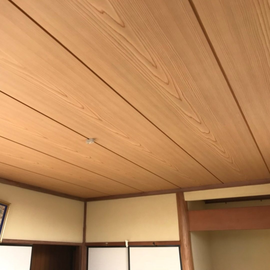 横浜市K様邸 天井張替え工事