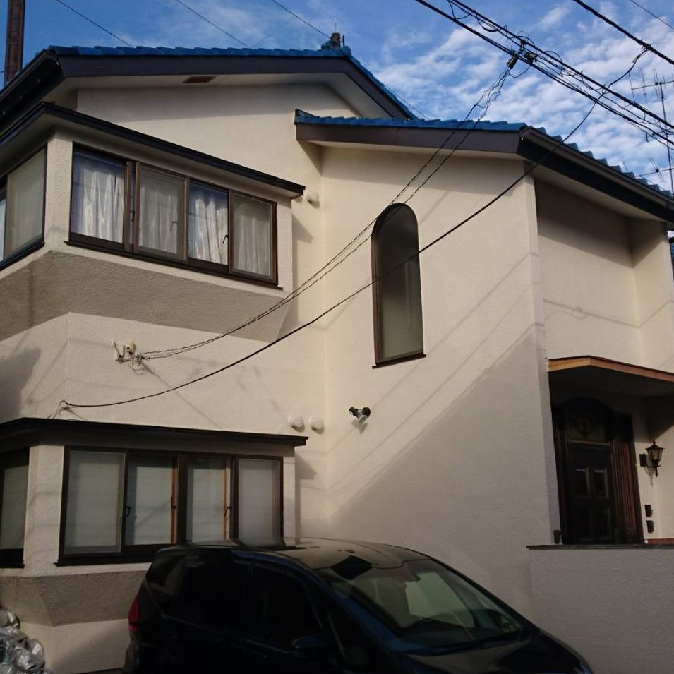 大和市N様邸 屋根・外壁塗装工事