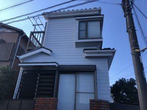 横浜市S様邸 外壁塗装工事 Before1