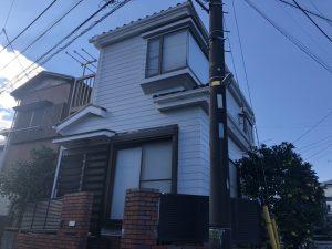 横浜市S様邸 外壁塗装工事 Before2