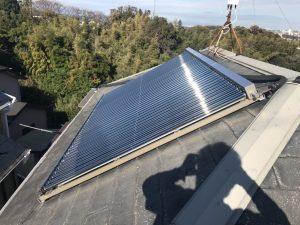大和市Y様邸 太陽光ソーラーパネル撤去工事 Before