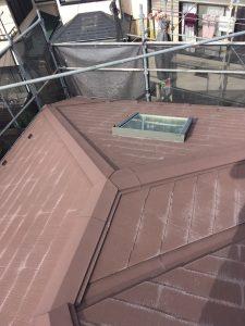 横浜市H様邸 屋根塗装+α工事 Before2