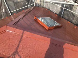 横浜市H様邸 屋根塗装+α工事 After1