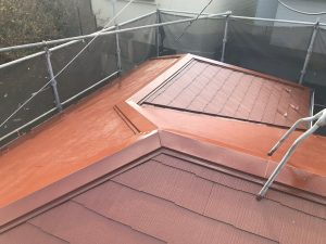 横浜市H様邸 屋根塗装+α工事 After2