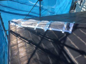 横浜市S様邸 屋根塗装+α工事 Before2