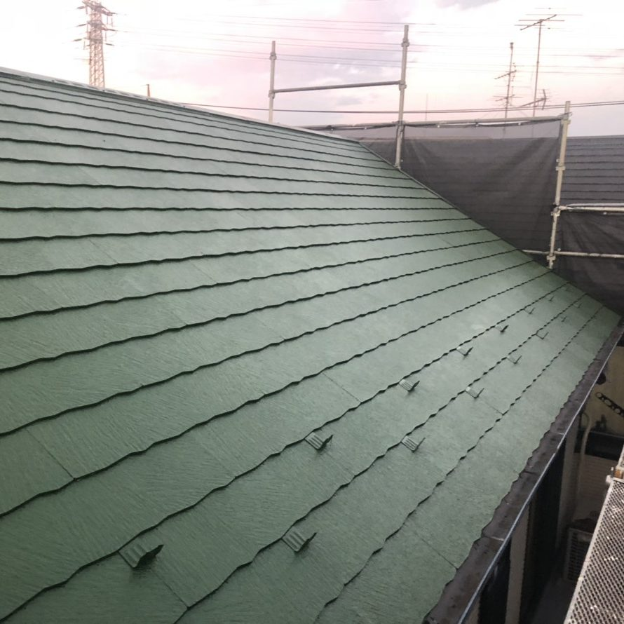 大和市M様邸 屋根塗装工事