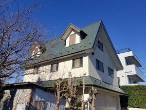 大和市O様邸 屋根葺替え・外壁塗装工事 After