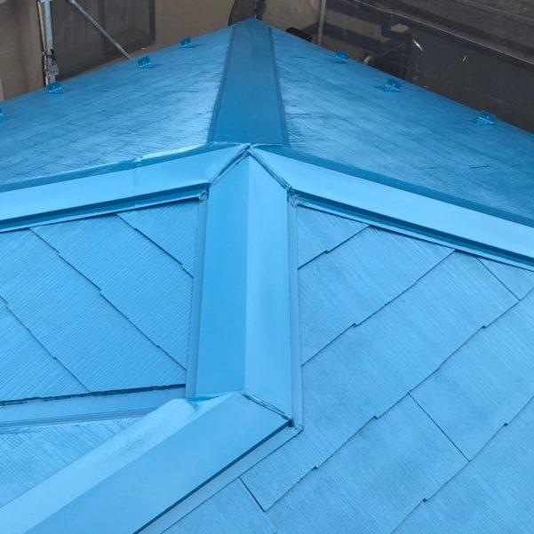 横浜市F様邸 屋根塗装工事 ②