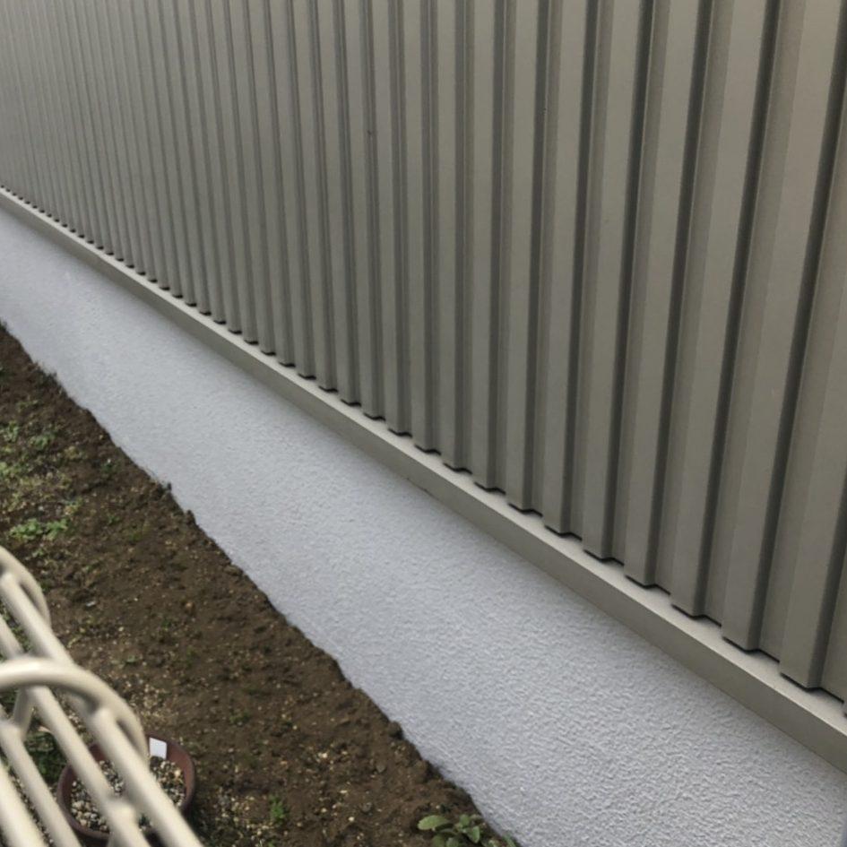 藤沢市S様邸 ジョリパット基礎コート工事