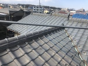 藤沢市T様邸 屋根葺替え工事 Before