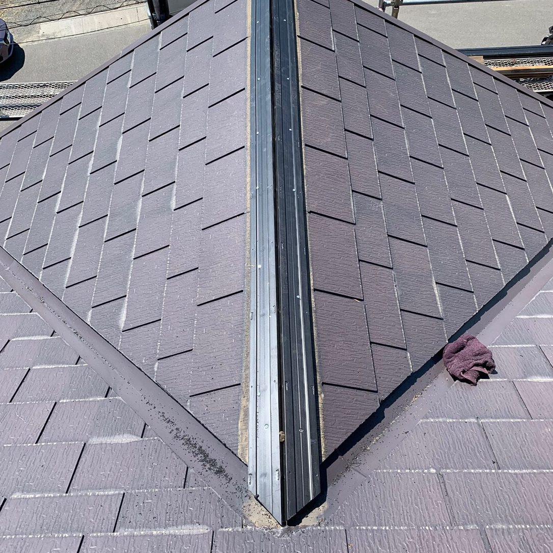 横浜市H様邸 屋根塗装工事