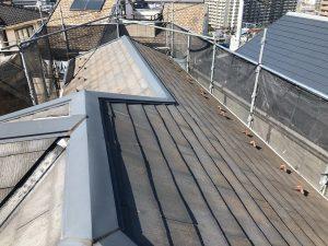横浜市H様邸 屋根塗装工事 Before