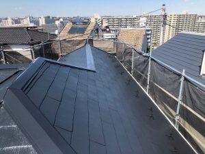 横浜市H様邸 屋根塗装工事 After