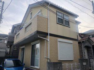 横浜市T様邸 外壁塗装工事 Before2