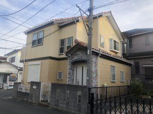 横浜市T様邸 外壁塗装工事 Before1