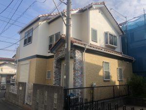 横浜市T様邸 外壁塗装工事 After1
