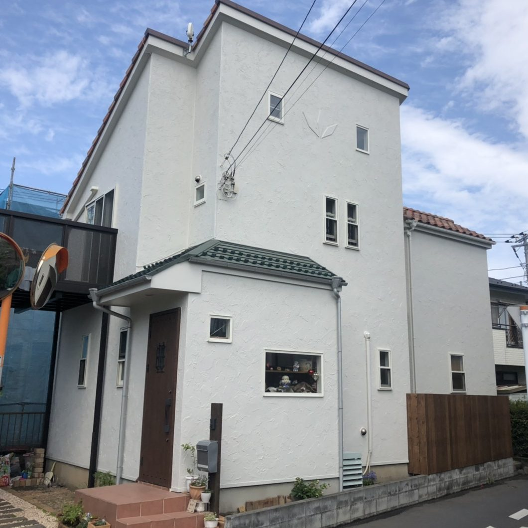 藤沢市H様邸 外壁塗装工事
