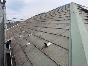 横浜市M様邸 屋根塗装工事 Before2