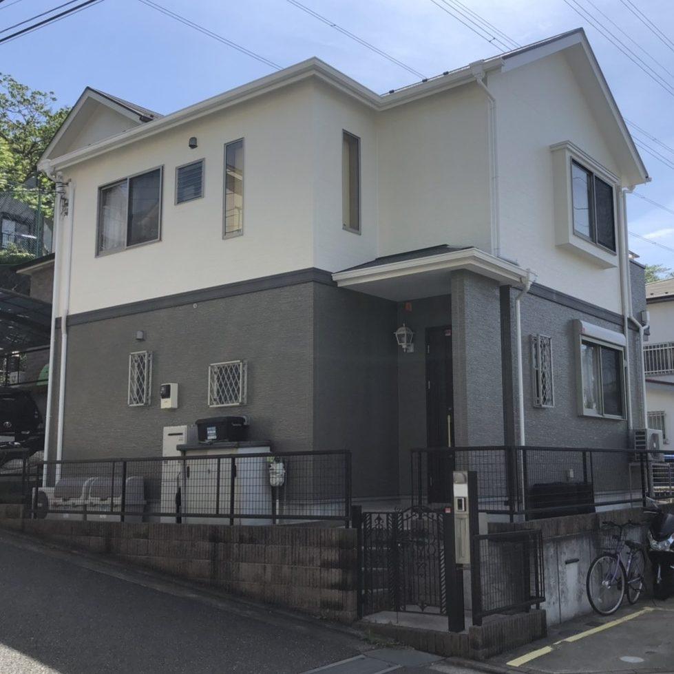 横浜市H様邸 外壁塗装工事