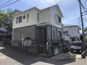 横浜市H様邸 外壁塗装工事 After2