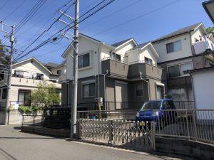 横浜市H様邸 外壁塗装工事 After1