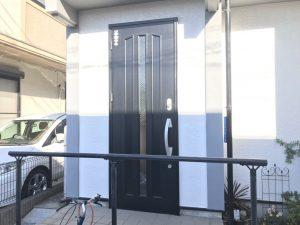 上尾市K様邸 玄関ドア交換工事 Before1
