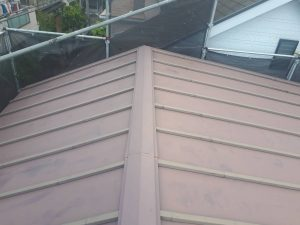 座間市K様邸 屋根塗装工事 Before