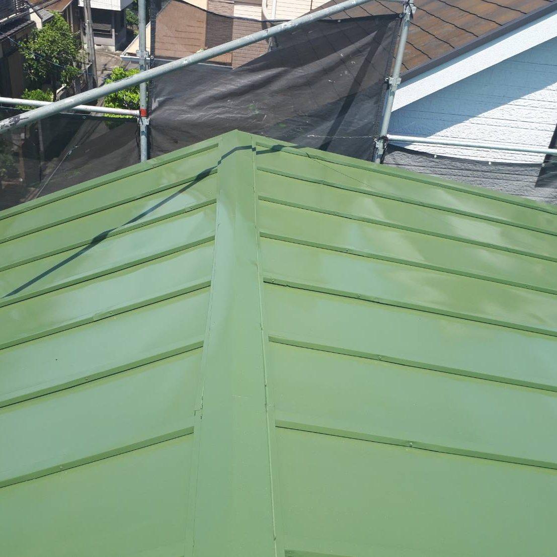 座間市K様邸 屋根塗装工事