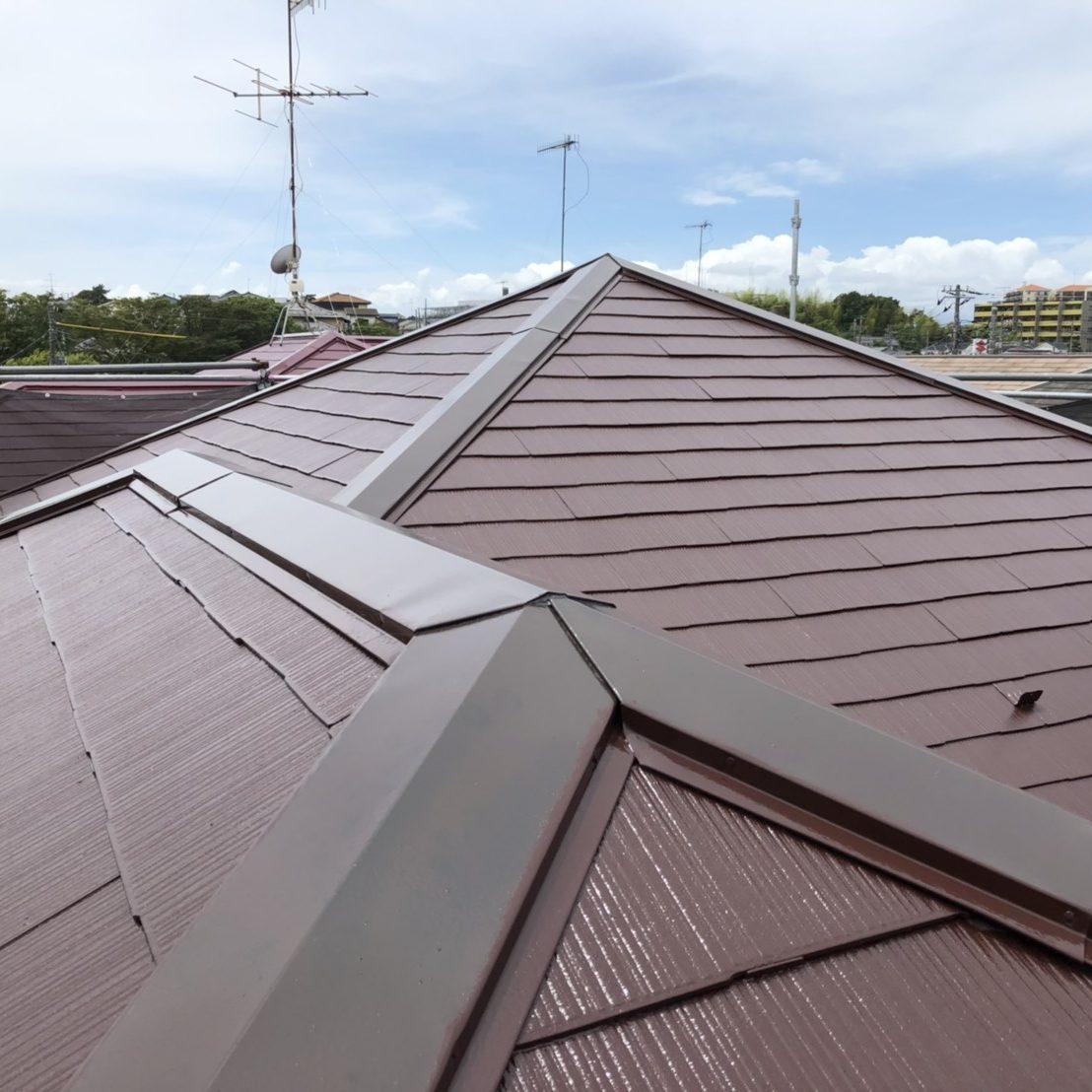 藤沢市S様邸 屋根塗装工事
