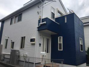 大和市T様邸 外壁塗装工事after
